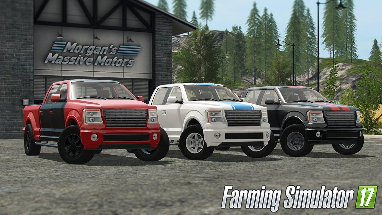 Vehicle Customization in Farming Simulator 17