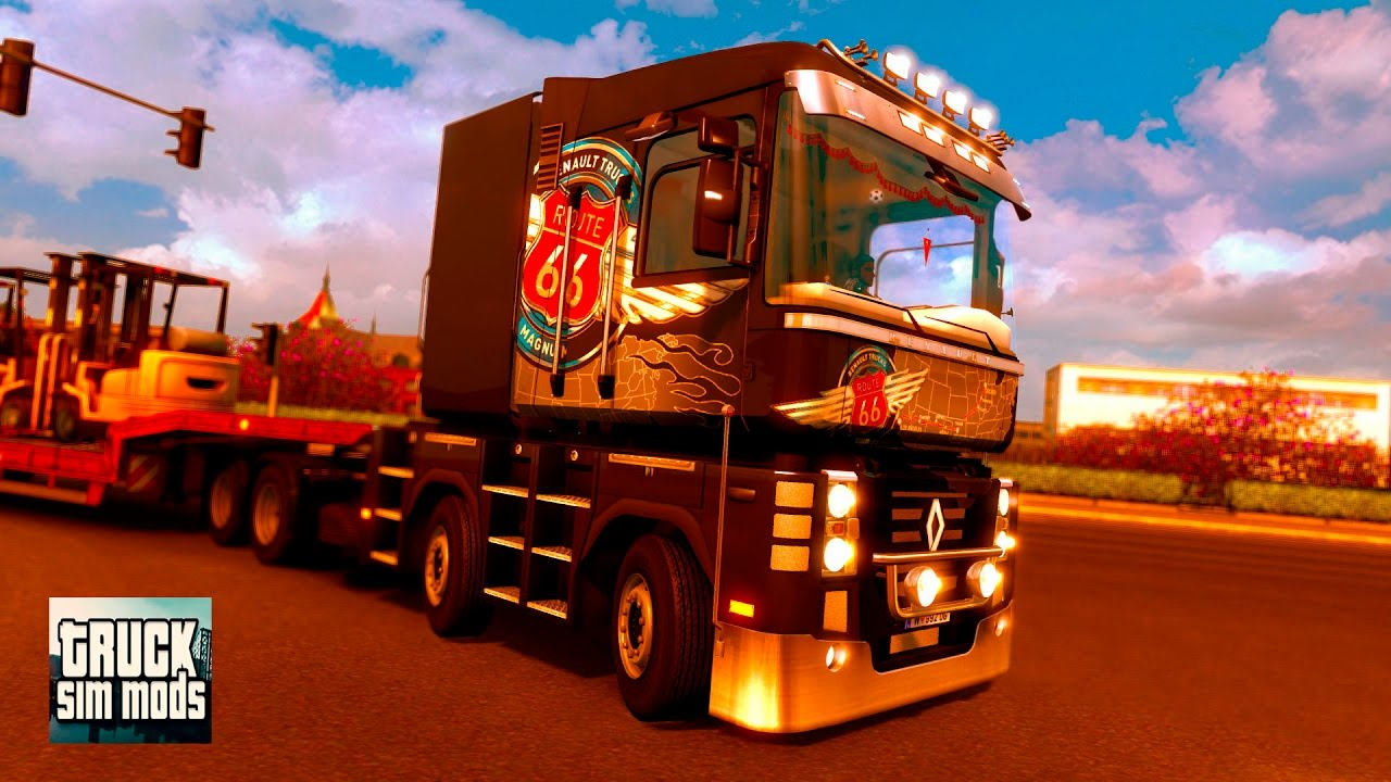 Renault Magnum 2009 Reworked v1.0 (1.25.x) for ETS 2