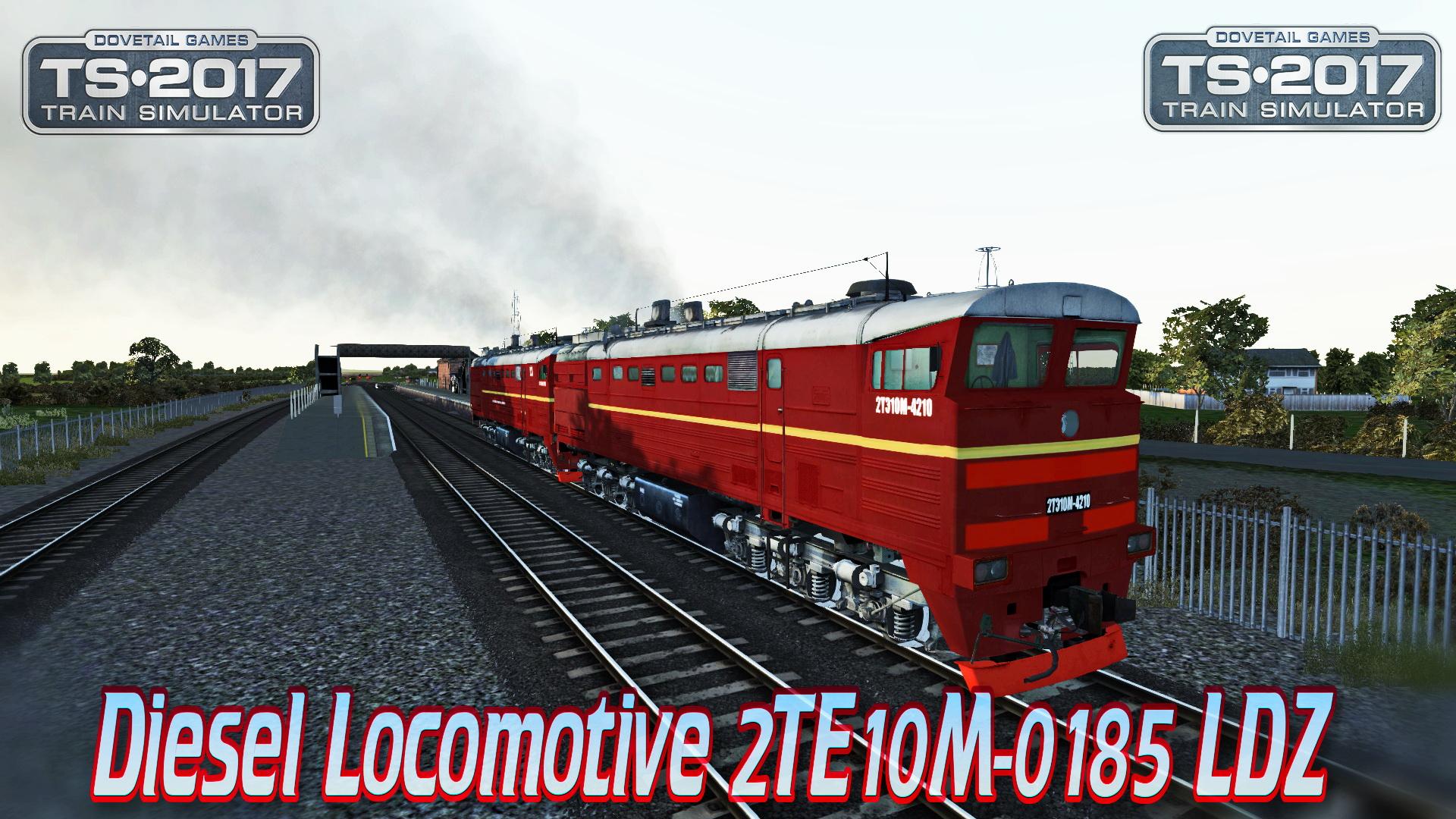 Diesel Locomotive 2TE10M-0185 LDZ v1.0 for TS 2017