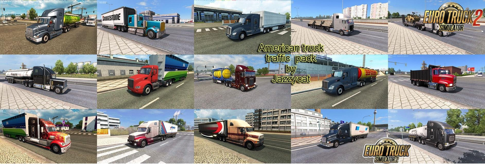 American Truck Traffic Pack v 1.3.3 by Jazzycat