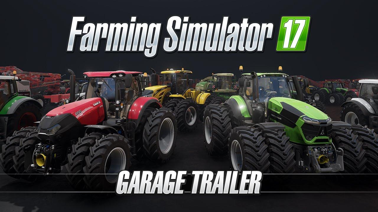 Farming Simulator 17 – Garage Trailer for FS 17