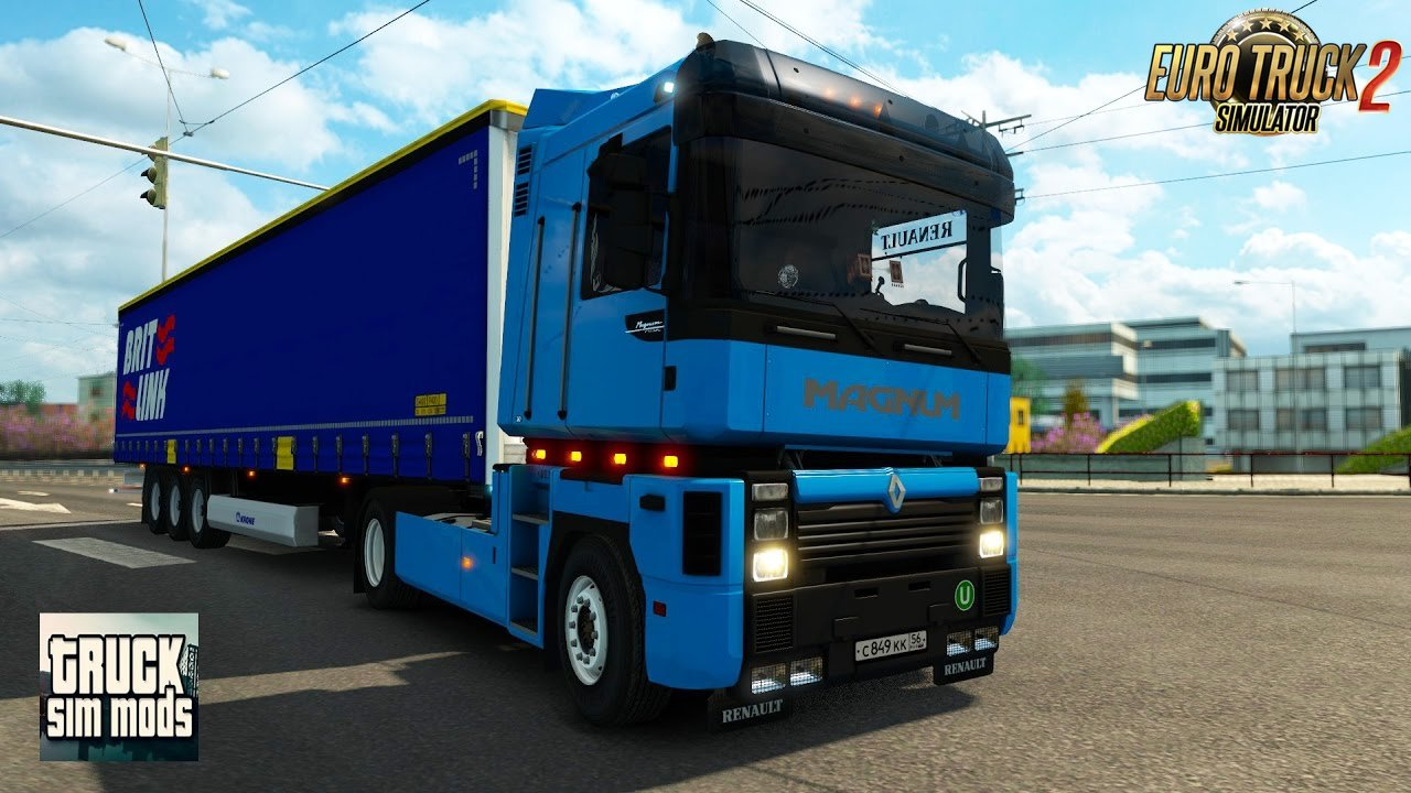 Renault Magnum Integral 390 + Interior v1.0 - New 2016 (1.25.x) for ETS 2