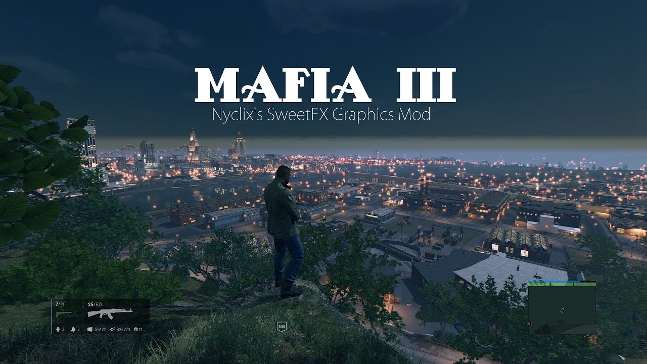 Reshade v5.1 by Nyclix for Mafia 3