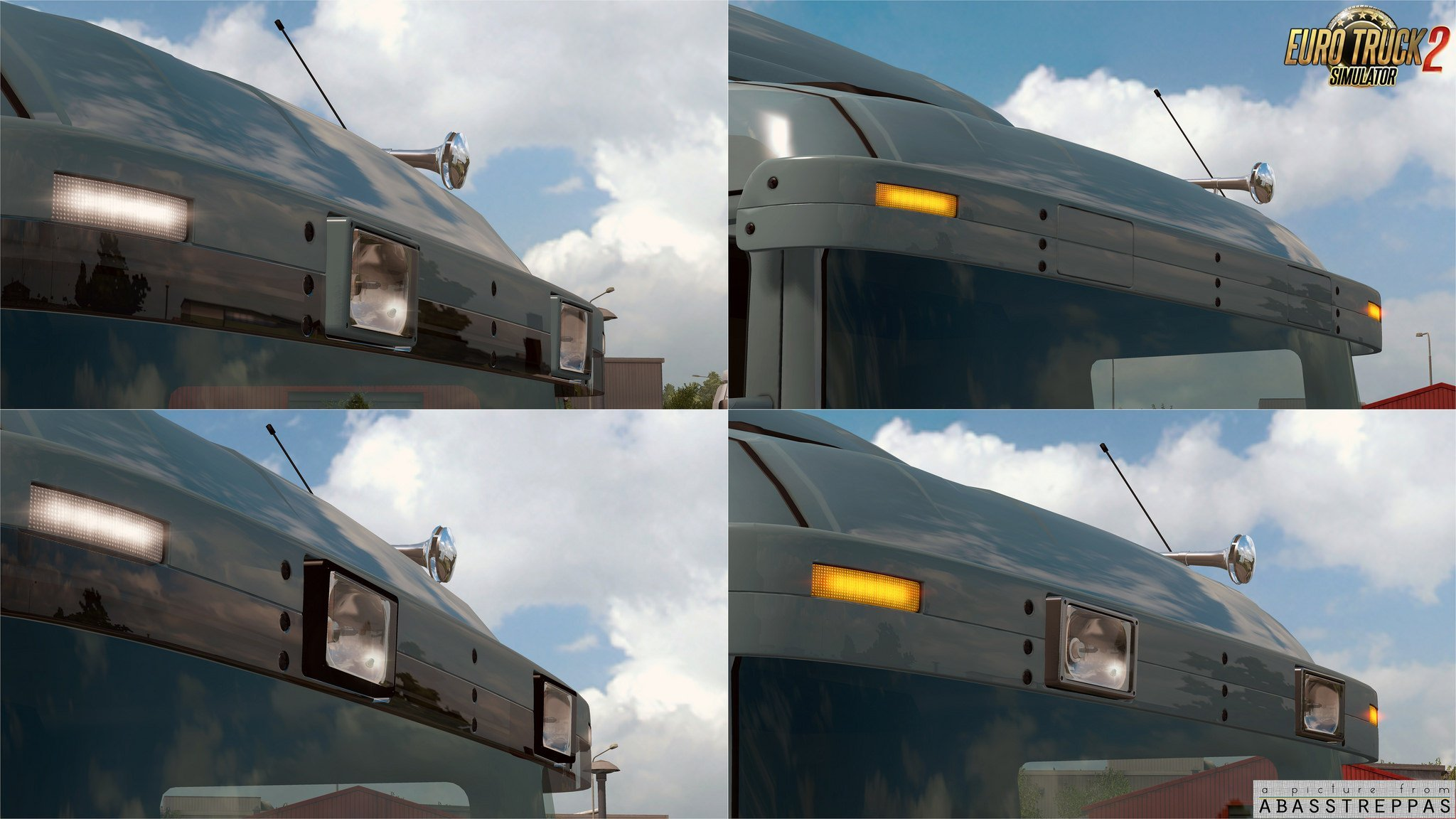 Abasstreppas 4-series/R1 old type sunshield for RJL Scanias [1.25.x]