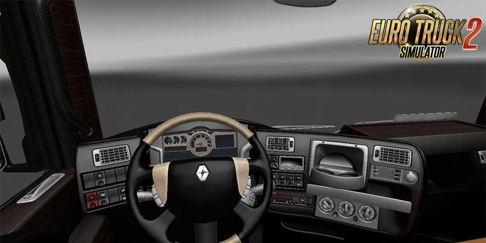 Renault Magnum Interior Edition 2016-LUXURY for Ets2