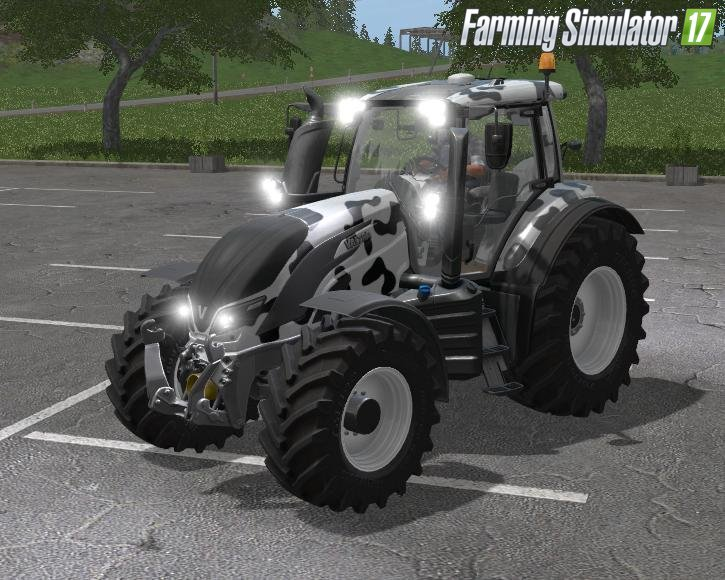 Valtra T Series Cow Edition v1 for Fs17