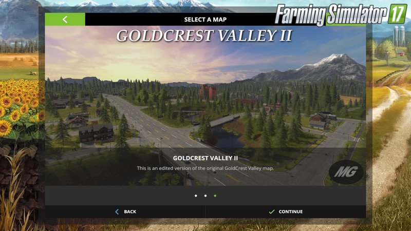 Goldcrest Valley II V 1.0.0.0 Map for Fs17