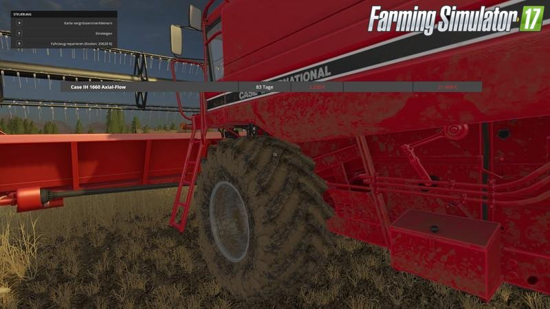 Repair Vehicles Mod v1.31 for Fs17