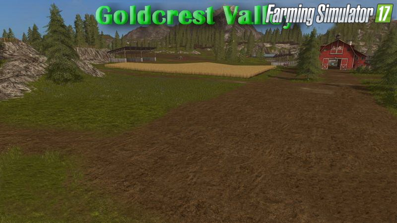 Goldcrest Valley Map v1.1 for FS 17