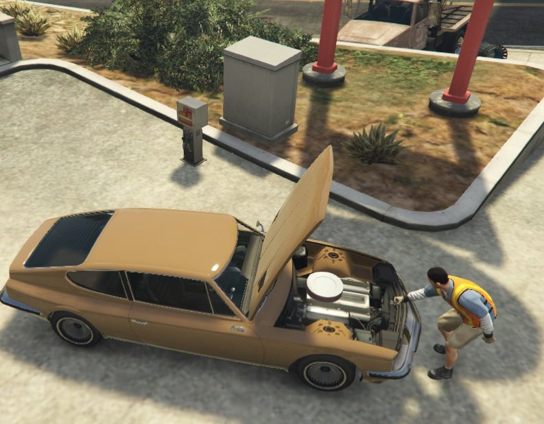 Car Mechanic Mod v1.2 for GTA 5