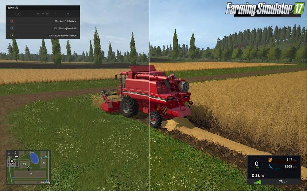 SweetFX Improved graphics v1.0 for Fs17