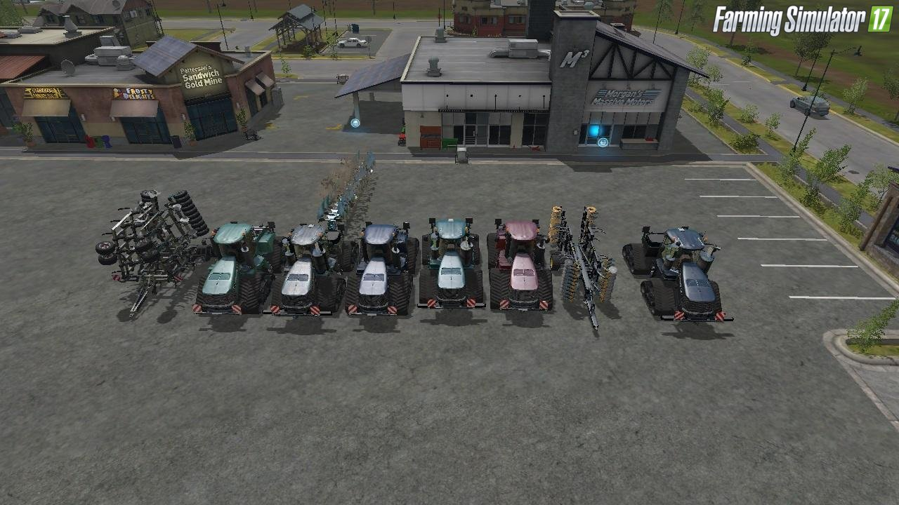 Case Tractors, Pough, Cultivator v1.1 for Fs17