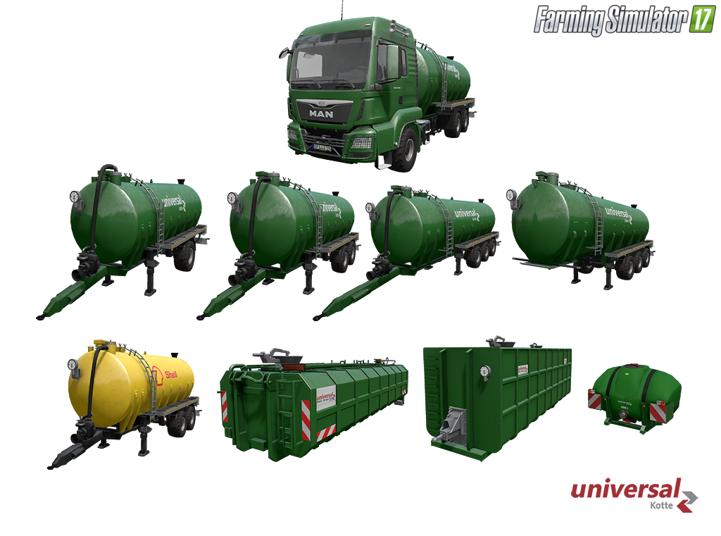 Kotte Universal Pack v1.0 for Fs17