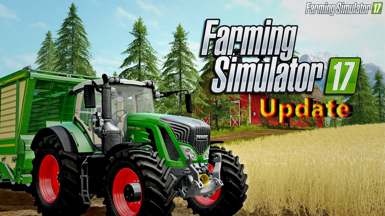 Farming Simulator 17 - Update v1.3 released
