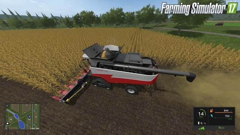 Rostselmash Torum 760 pack options v1.0 for Fs17