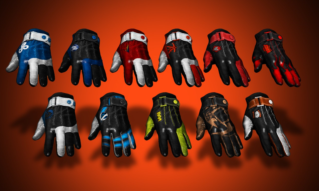 Pro team gloves - Phoenix/Balkan/Professio v1.0 for CS:GO