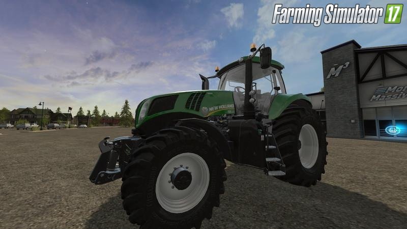 New Holland T8 Green Edition v1.0 for Fs17
