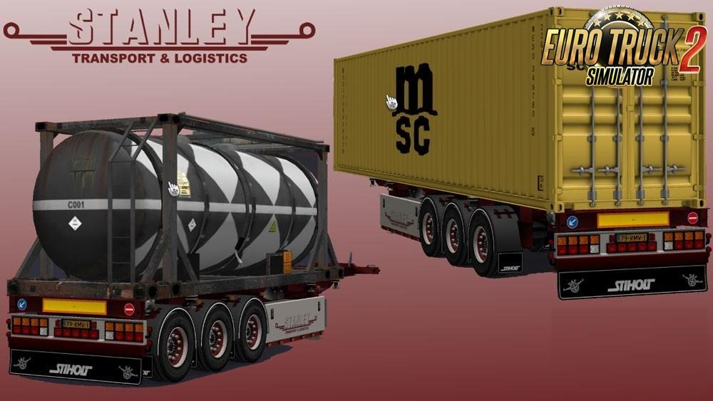 Trailer Pack v1.3 by Stanley + Templates for Ets2