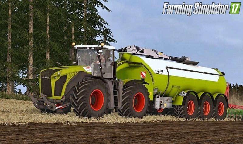 Claas Xerion 5000 Pack for Fs17