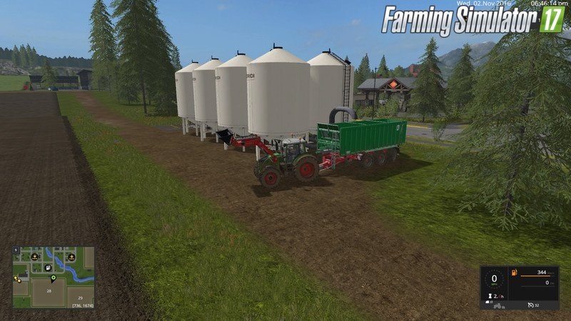 Cow Silo for placement in GE v1.1 for Fs17