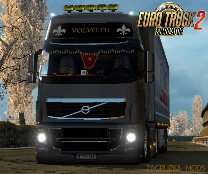 Volvo FH 2009 Tuning v2.0 by Erlin