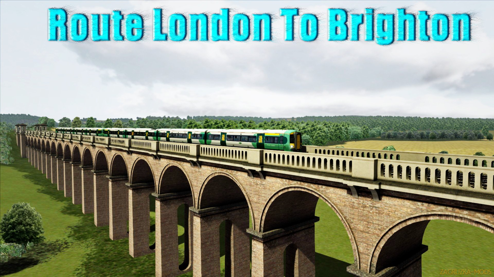 Route London To Brighton v1.0 for TS 2016