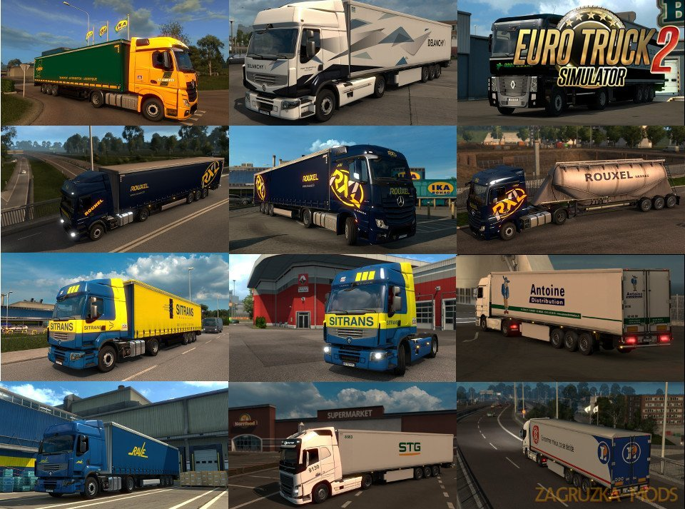 Eskolaite Skin Pack v12 for Ets2