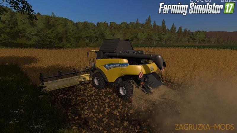 Combine New Holland CR 6.90 v1.1 for Fs17