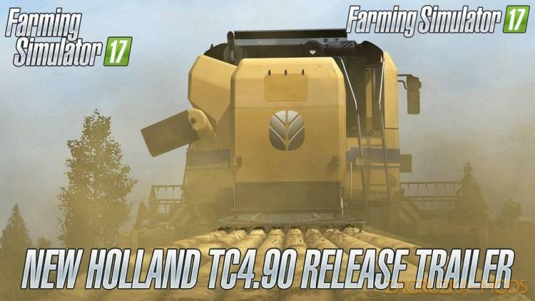 Combine New Holland TC4.90 v1.0 for Fs17