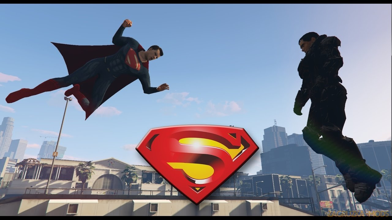 Superman Script Mod v1.0 for GTA 5