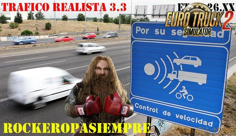 Realistic Traffic v3.3 by Rockeropasiempre [1.26.x]