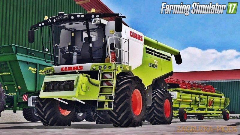 Claas Lexion 780 Full Washable for Fs17