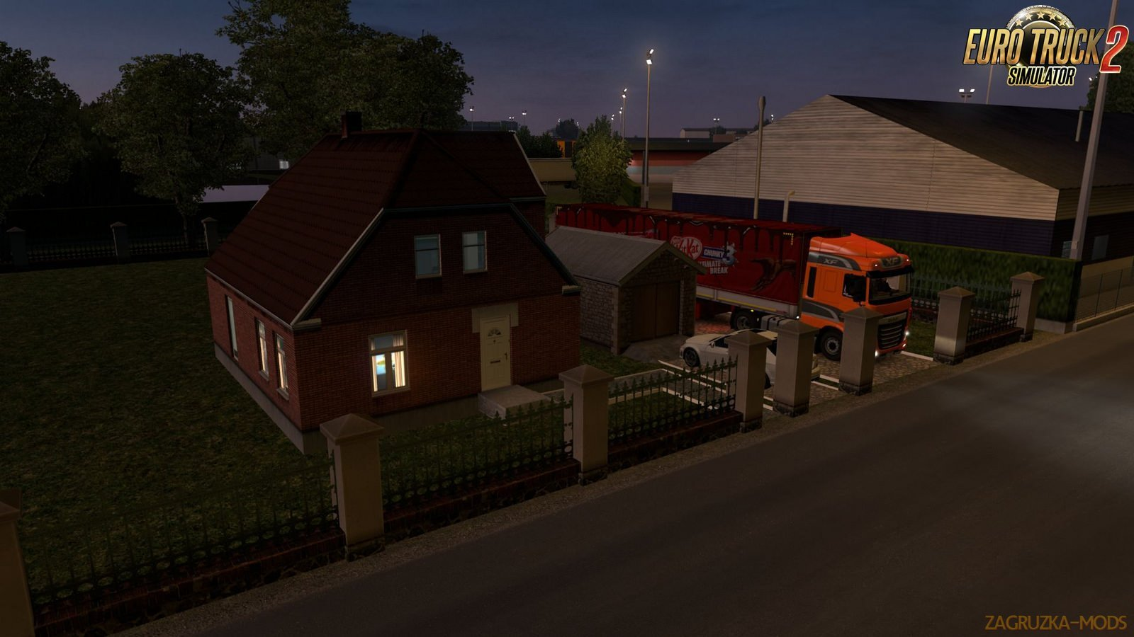 Sweet Home in Paris for Ets2