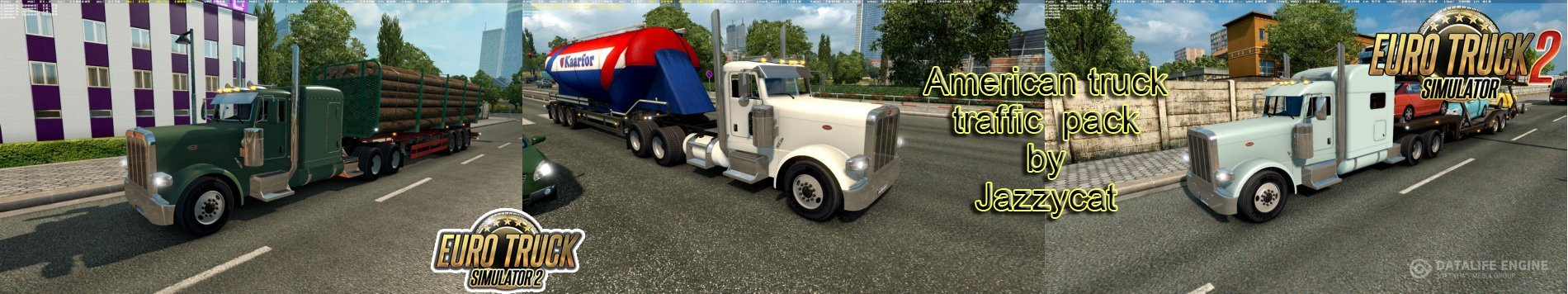 American Truck Traffic Pack v 1.4 by Jazzycat