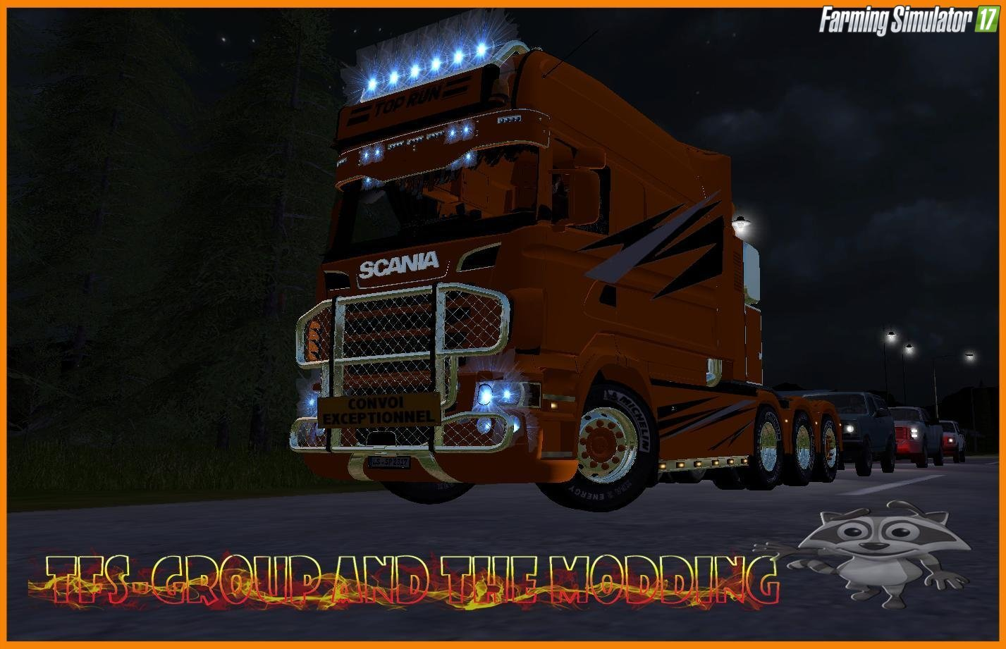 Scania Toprun TFSGroup for Fs17