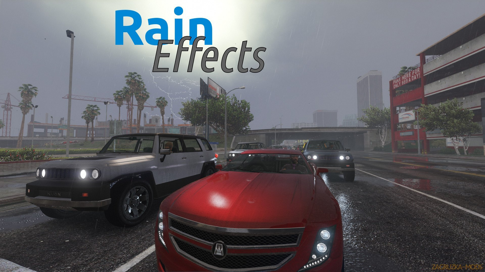 Rain Effects - Enhancement Script v1.5 for GTA 5