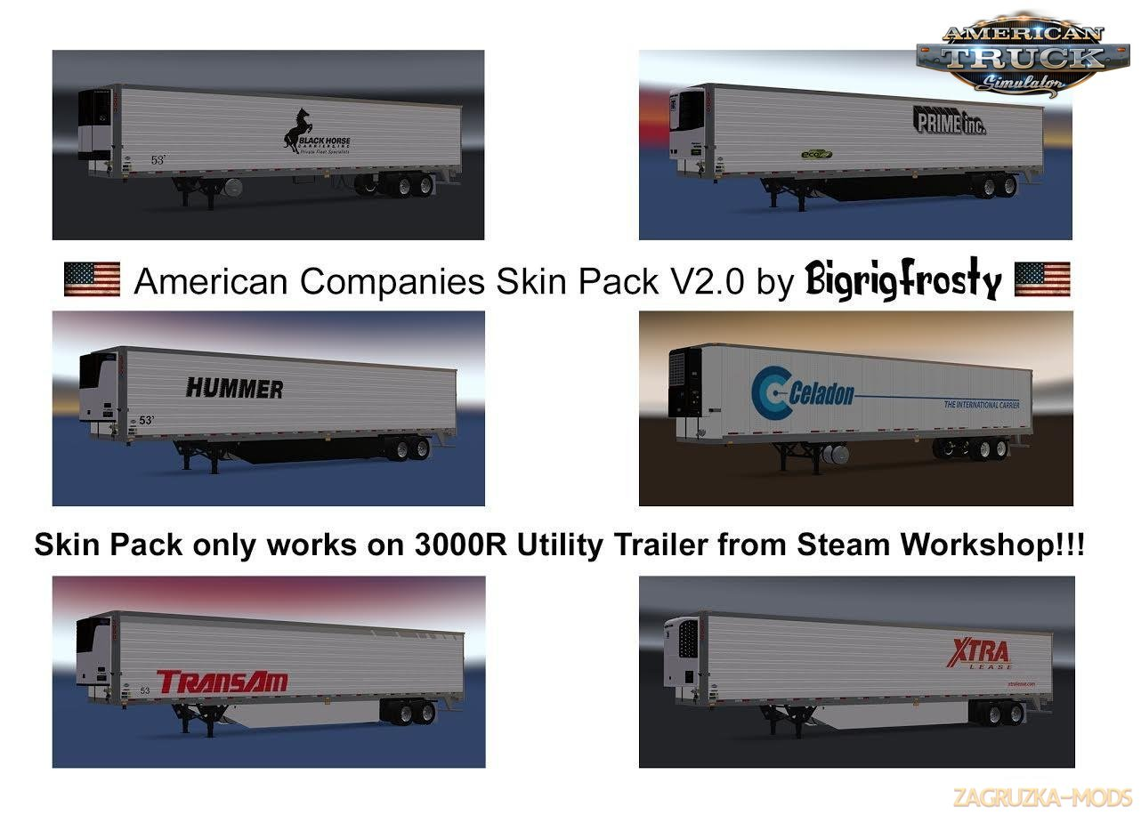 American Ccompanies 3000R Utility Skin Pack v2.0 for Ats