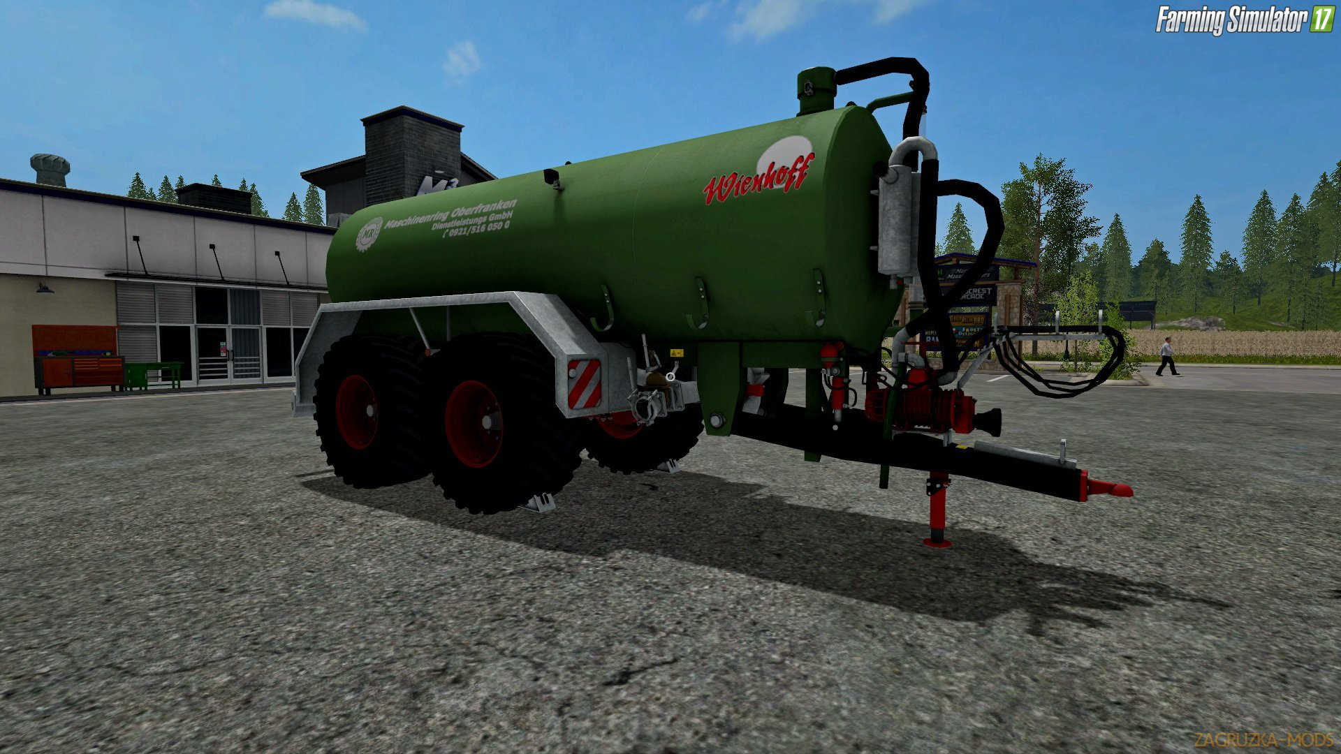 Trailer Wienhoff 20200 VTW v1.0 for FS 17