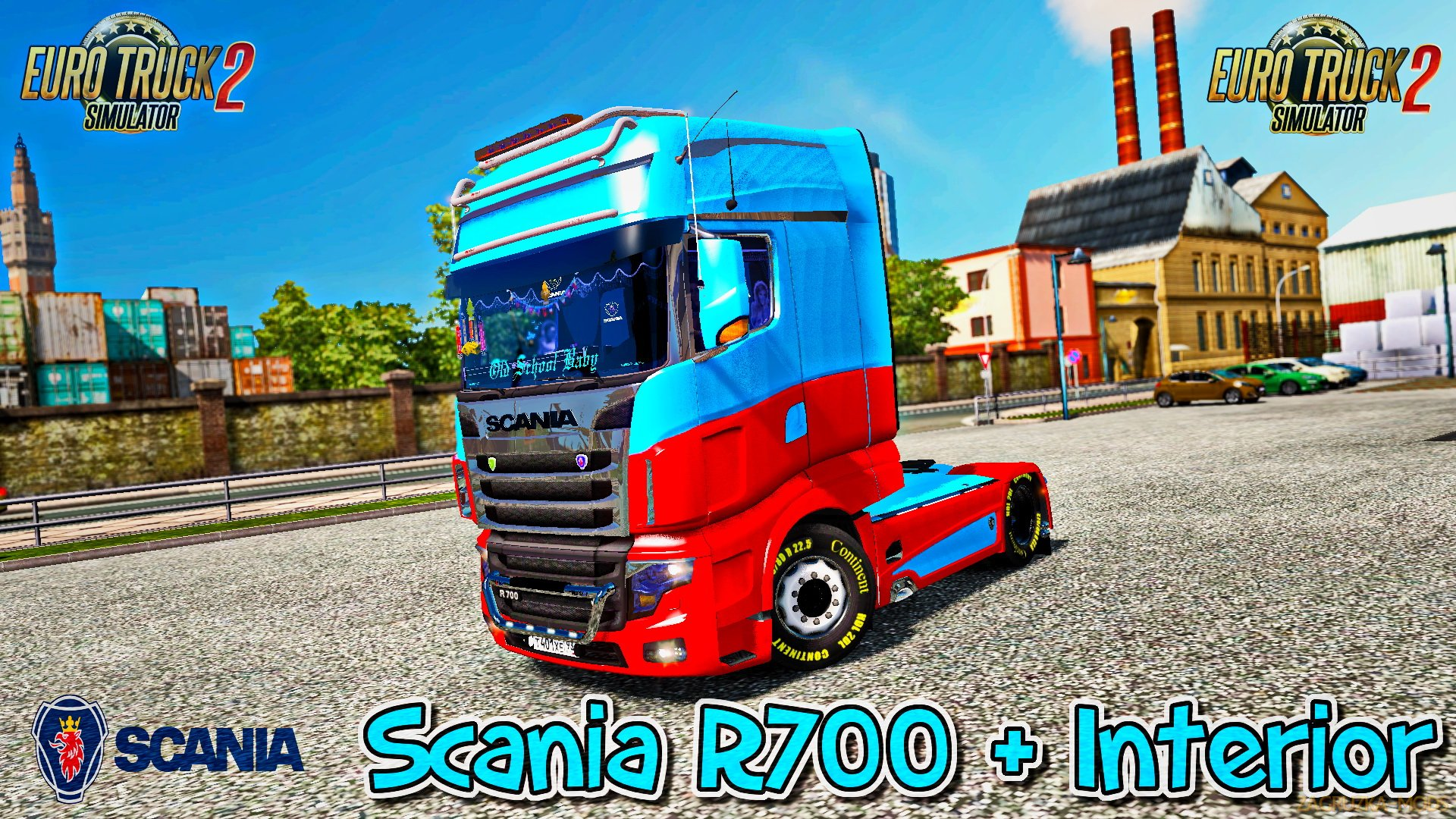 Scania R700 + Interior v1.0 (1.26.x) for ETS 2