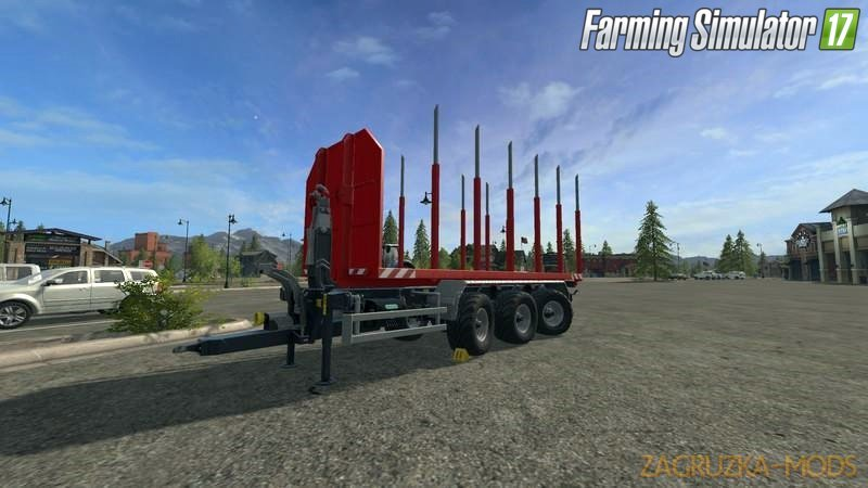 ITRunner Wooden Containers Foldable v2.0 for Fs17