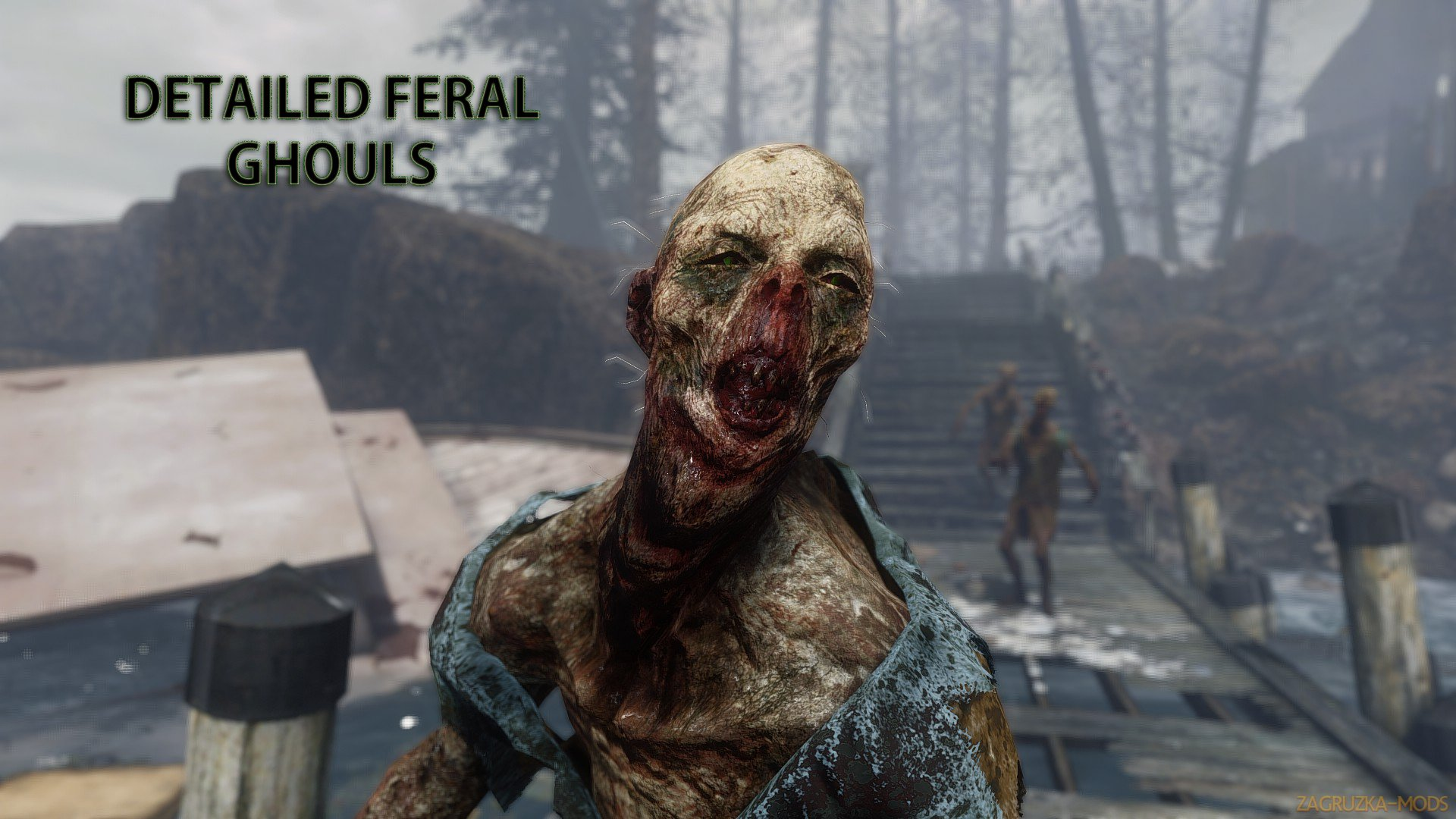 Fallout 4 Ghoul Retexture