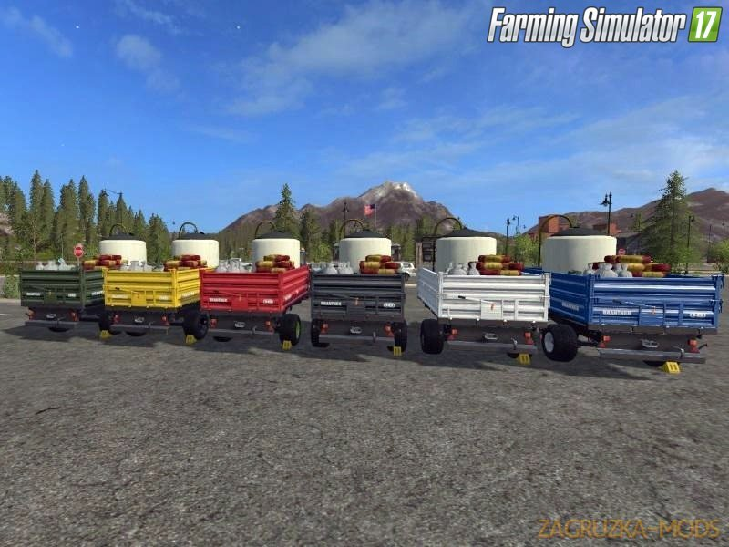 Seed & Fertiliser Refill Trailer for Fs17