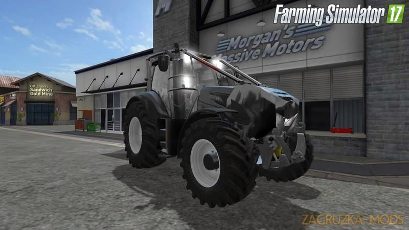 Valtra T Series Forestier v1 by Titan for Fs17