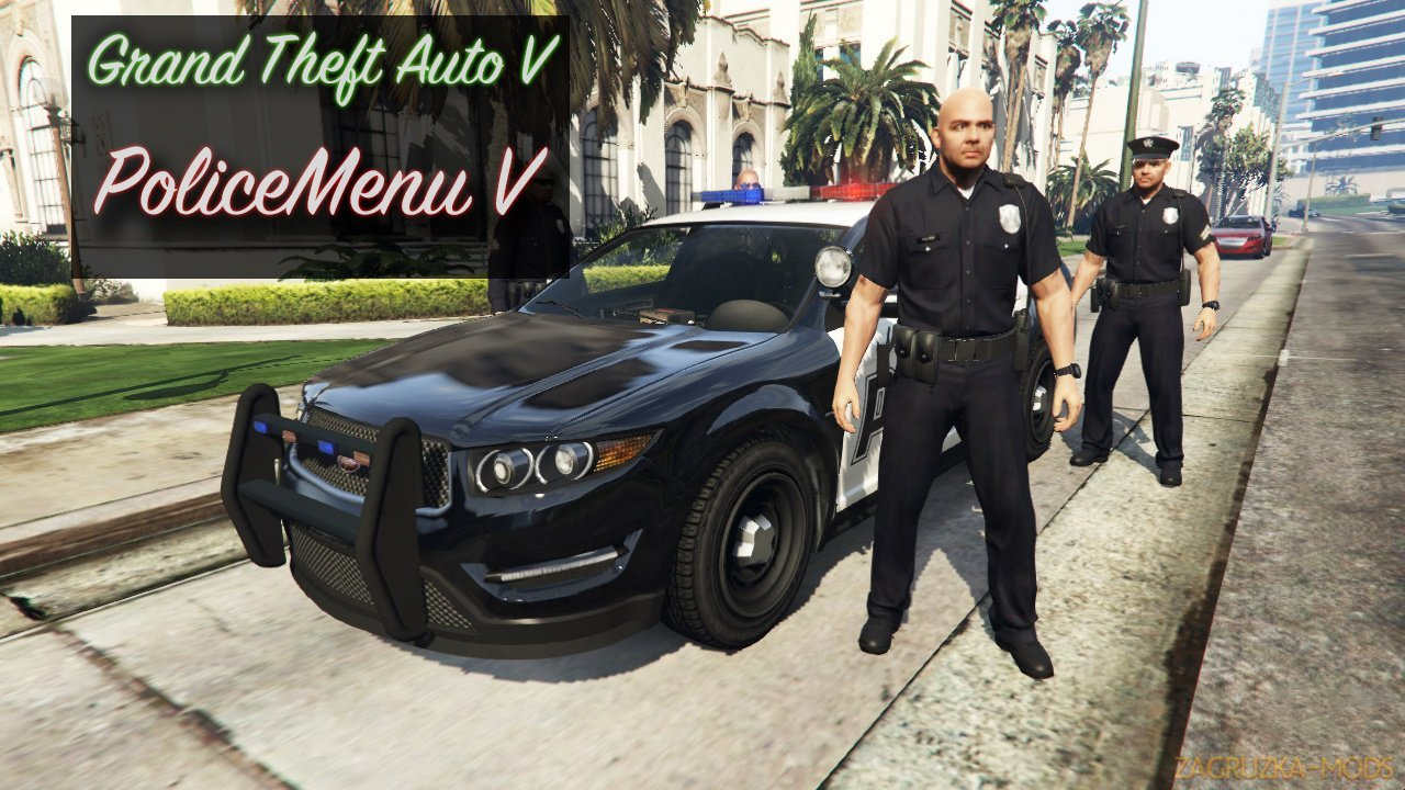 PoliceMenu Mod v2.6 for GTA 5