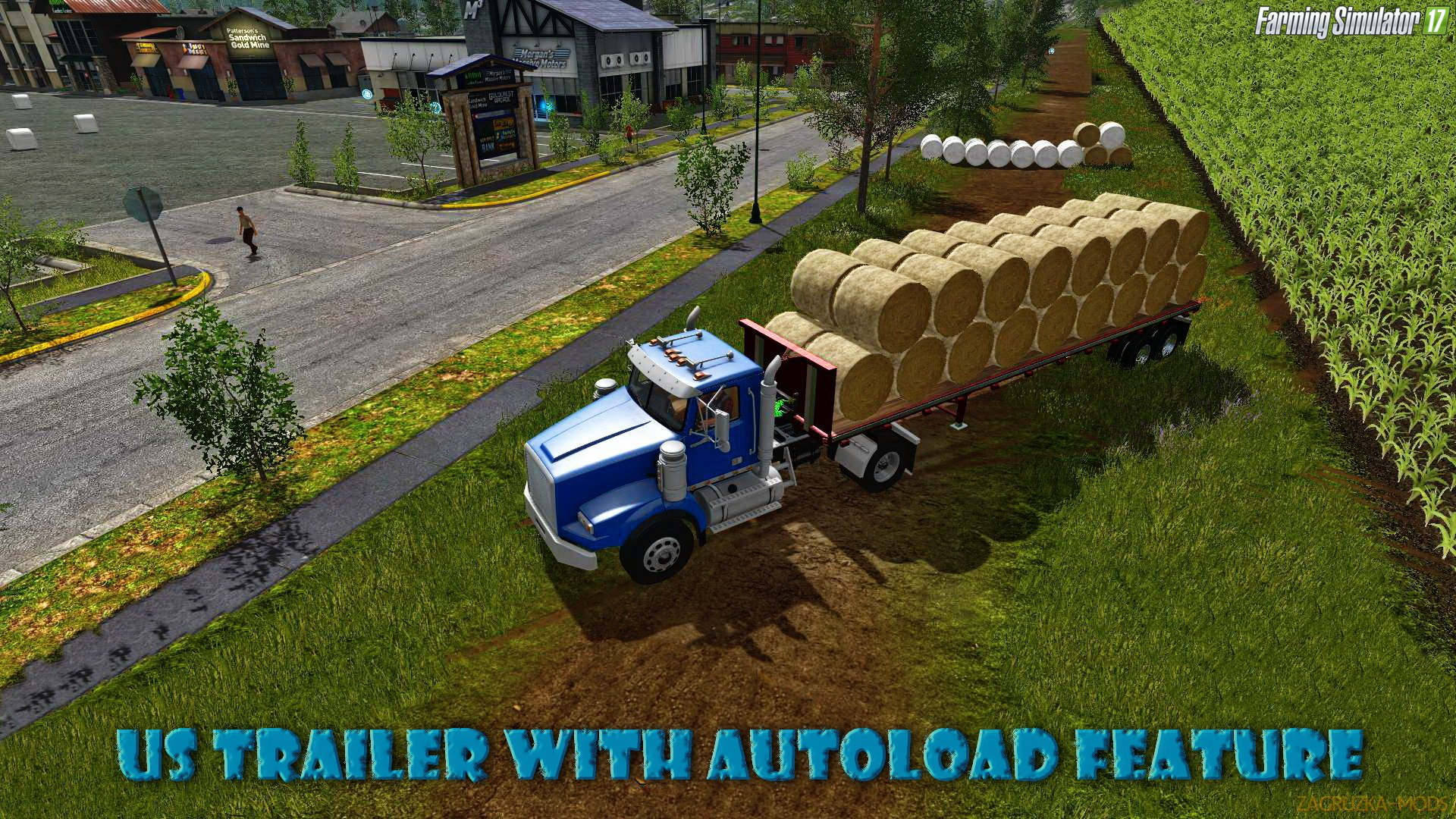 US Trailer With Autoload Feature v3.0 for FS 17