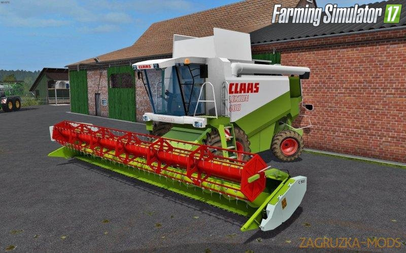Combine Claas Lexion 480 for Fs17