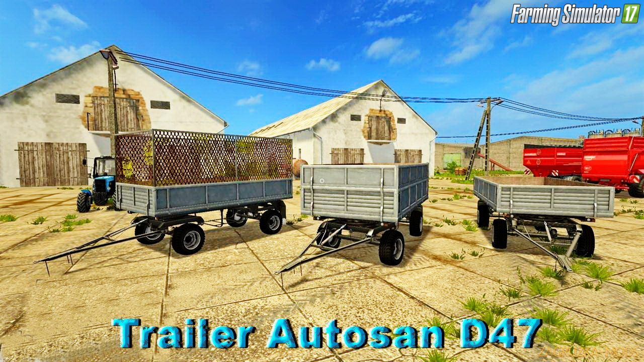 Trailer Autosan D47 v1.0 for FS 17