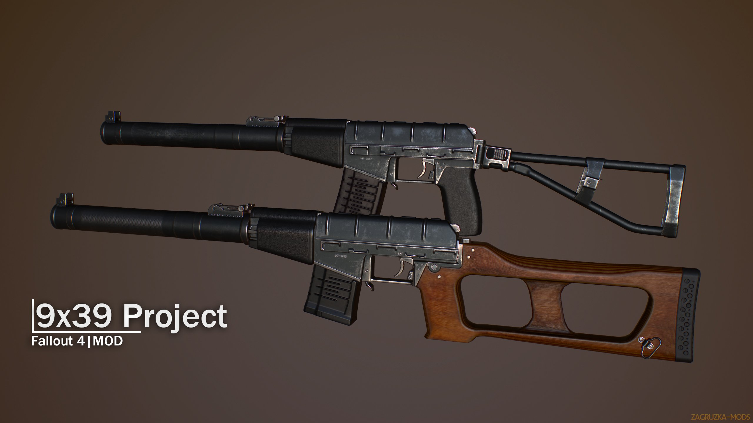 Project 9x39 Gun v1.5 for Fallout 4