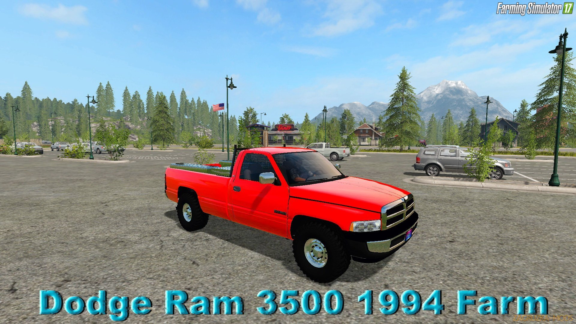 Dodge Ram 3500 1994 Farm Truck v1.0 for FS 17