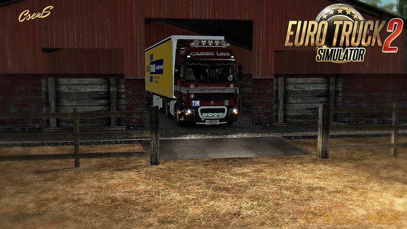 The new unloading zone v1.5 by Schumi [1.27.x]